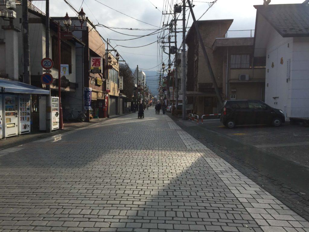 秩父の商店街