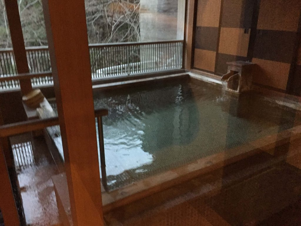 秩父温泉ホテル美やまの露天風呂