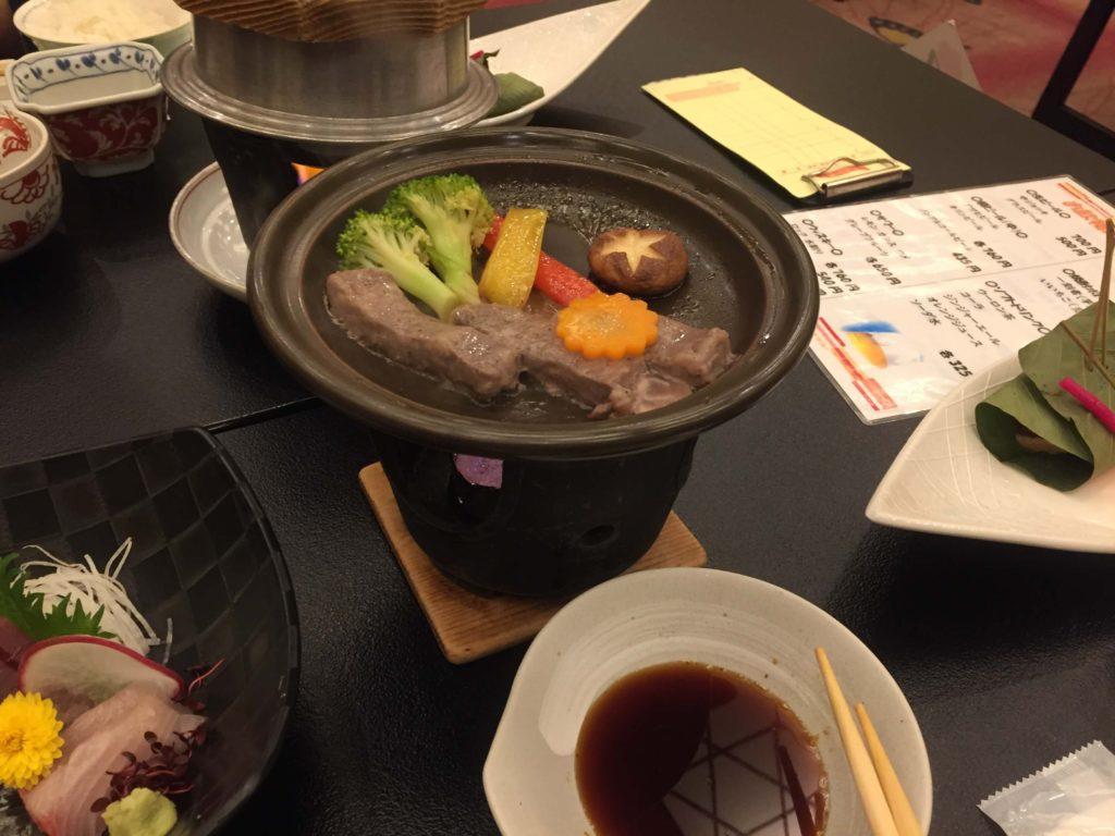 ホテル美山の食事2