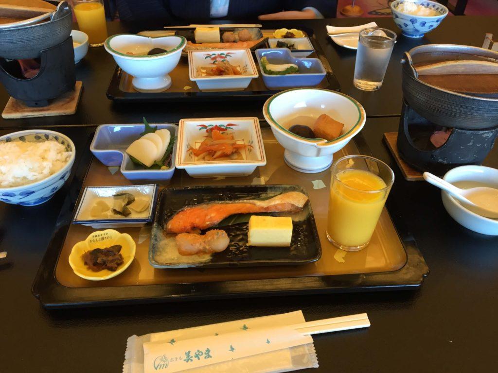 ホテル美山の朝食